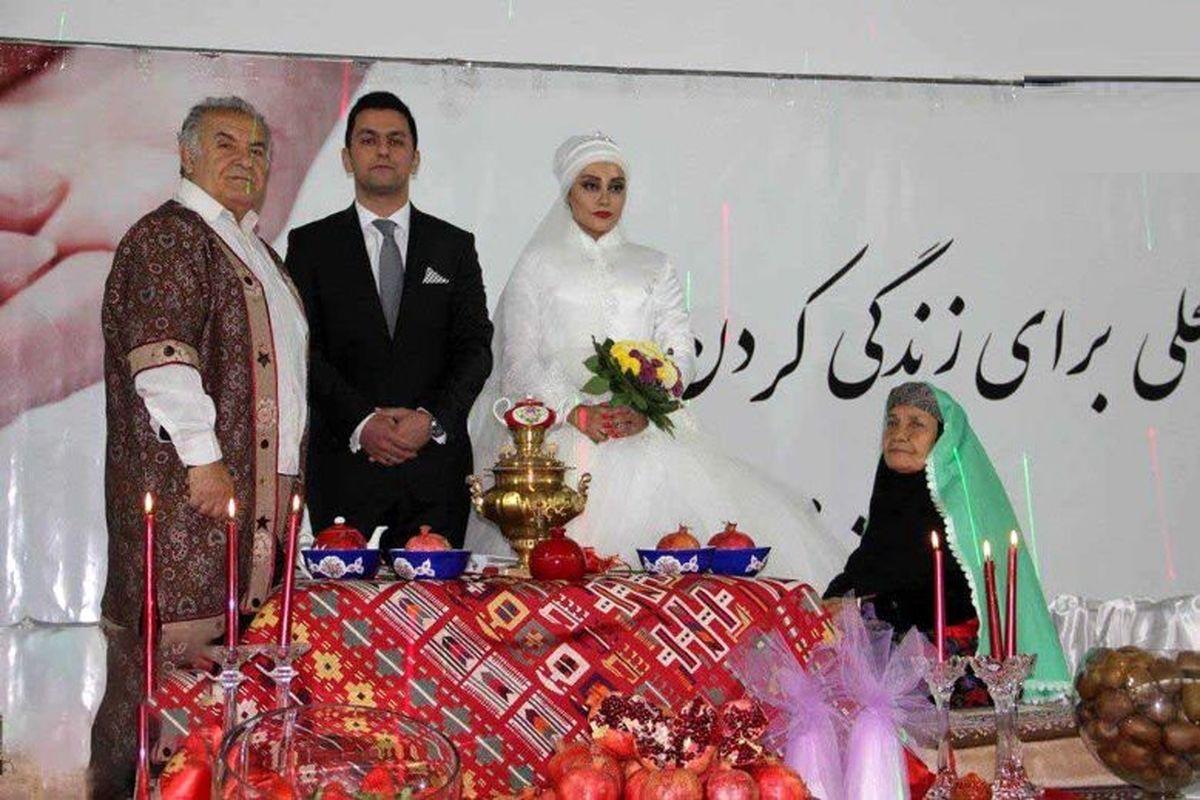 عروسی لاکچری در جنوب تهران +عکس