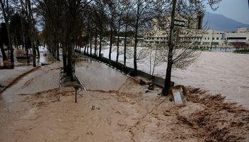 آبادان در محاصره سیلاب +فیلم