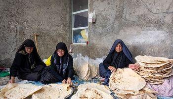 نذر نان محلی در لاسْجِرد +عکس