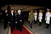 چه کسی به استقبال روحانی در فرودگاه رفت؟ +عکس