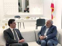 رئیس اقلیم کردستان عراق با ظریف دیدار و گفتگو کرد