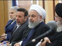 روحانی در جلسه شورای مدیریت بحران گلستان +عکس