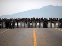 درگیری میان مهاجران در مرز مکزیک و گواتمالا +فیلم