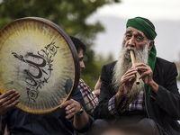 «دف نوازی» در کردستان +عکس