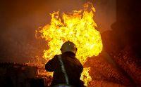 مهار آتش سوزی در مجتمع ۶۸۰۰متری کهریزک