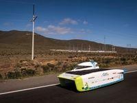 مسابقه خودروهای خورشیدی +تصاویر