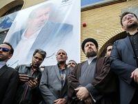 چهرهها در مراسم تشییع بهرام شفیع +تصاویر