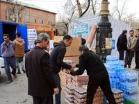 جمعآوری کمکهای مردمی برای سیلزدگان گلستان +تصاویر