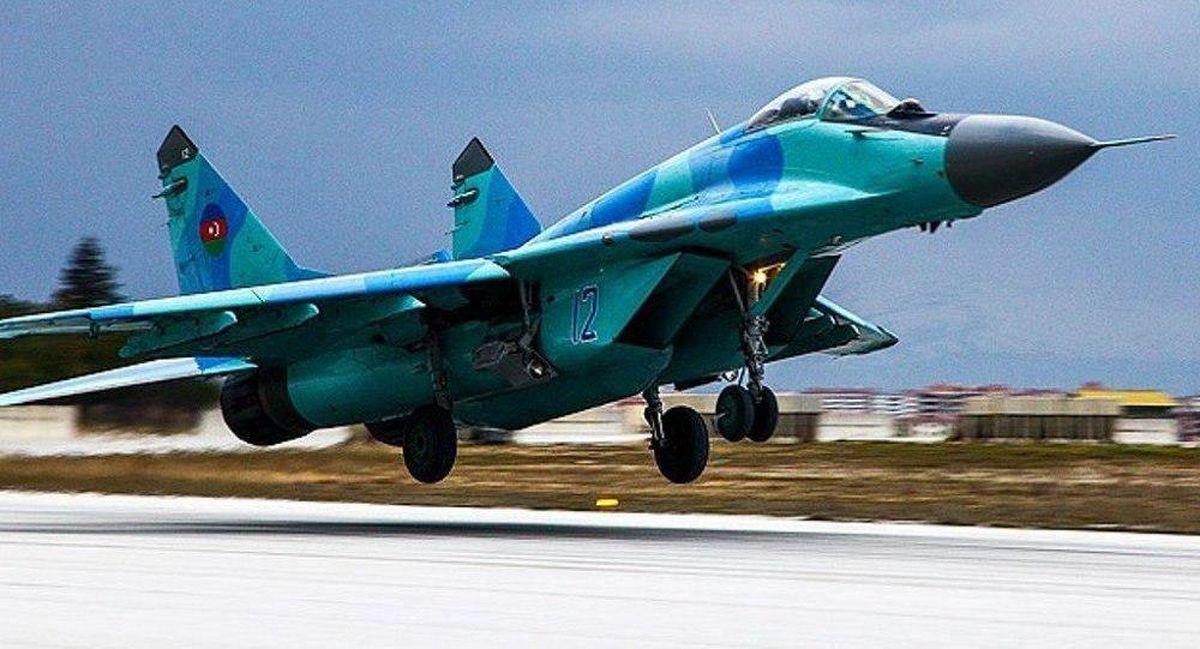 جنگنده جمهوری آذربایجان در دریای خزر سقوط کرد