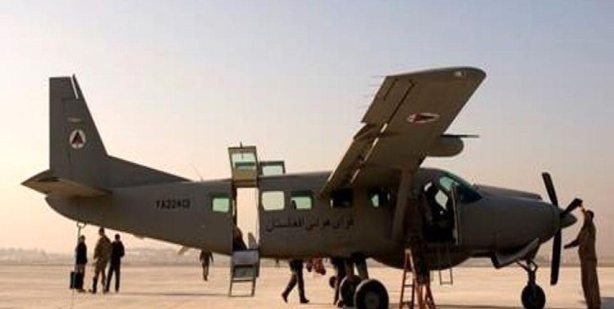 پدافند ازبکستان هواپیمای نظامی افغانستان را هدف قرار داد