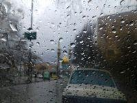 رگبار باران و بارش تگرگ در برخی استان های کشور