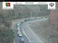 وضعیت ترافیکی محور چالوس-کرج، محدوده پل دزبن