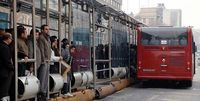 شهروندان بدون ماسک وارد اتوبوس نشوند