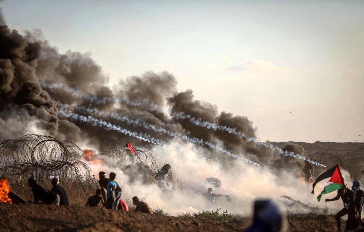حمایت آمریکا از حملات صهیونیستها علیه نوار غزه