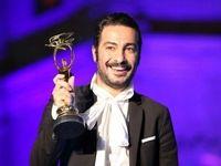 لحظه اعلام نویدمحمدزاده به عنوان بهترین بازیگر مکمل مرد +فیلم