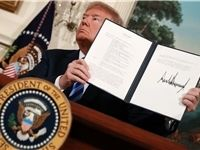 ترامپ سوئیفت و مقامهای اروپایی همکار با ایران را تحریم کند