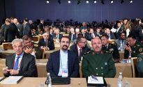 وزیر دفاع در جمع همتایانش از ۸۰ کشور دنیا +عکس