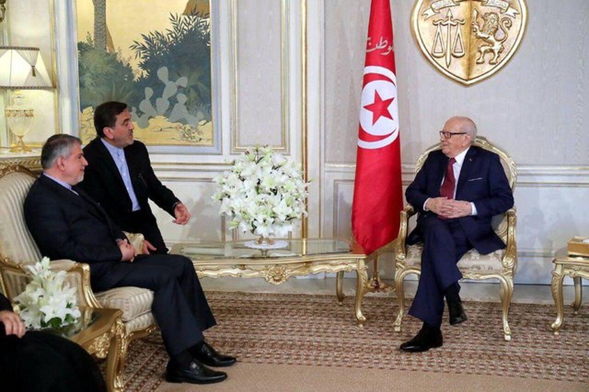 وزیر فرهنگ با رییسجمهور تونس دیدار کرد