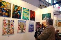 آثار هنرمندان ایرانی در ایتالیا به نمایش گذاشته شد
