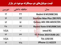 قیمت انواع موبایلهای دوسیمکارته در بازار؟ +جدول