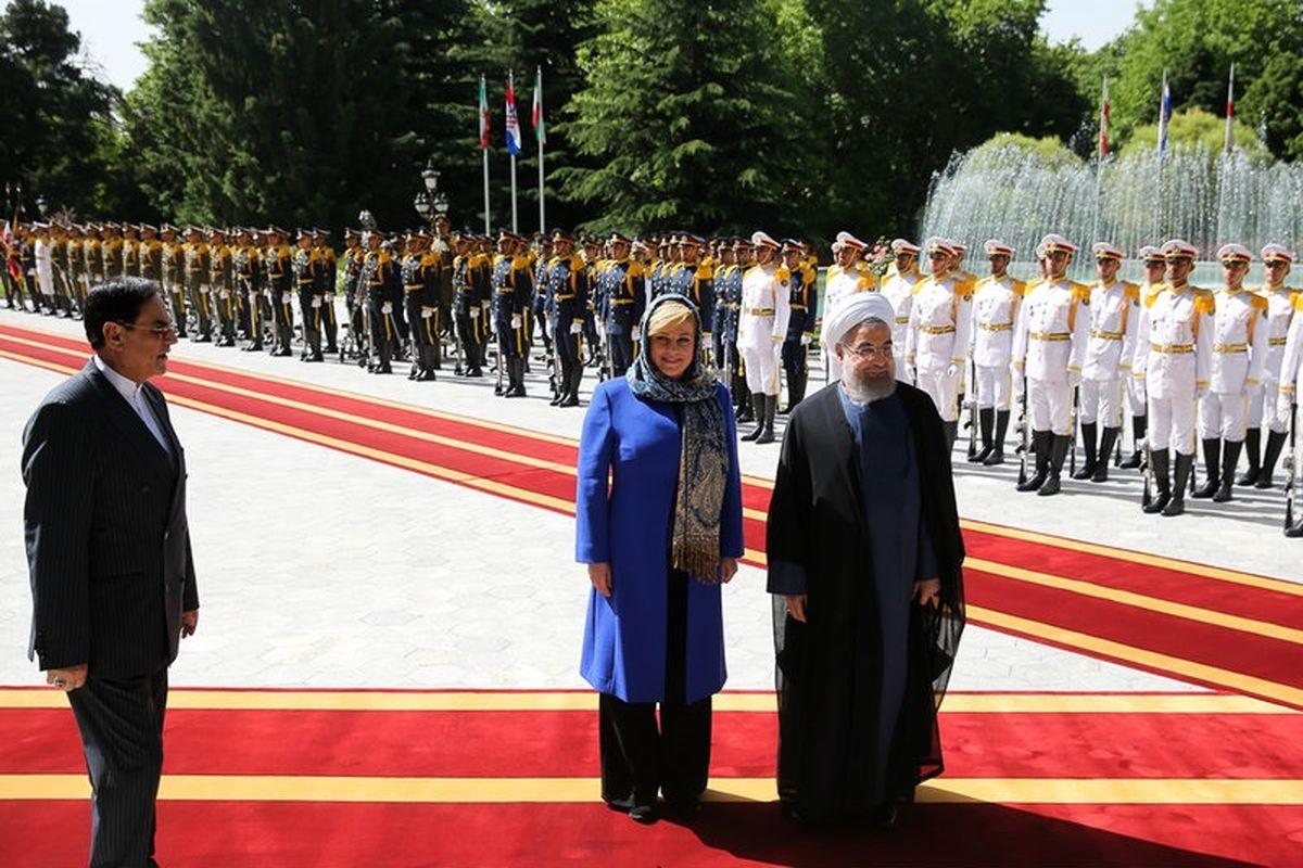 روحانی: باید روابط با کرواسی تقویت شود