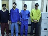 بازداشت ۶سارق مسلح در پایتخت +تصاویر