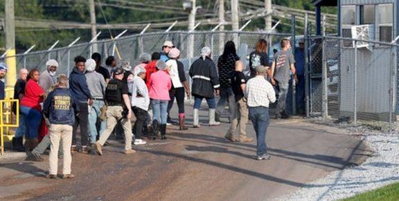 یورش مأموران گمرک آمریکا به کارخانهها در میسیسیپی