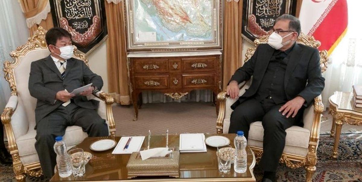 دیدار وزیر خارجه ژاپن با شمخانی
