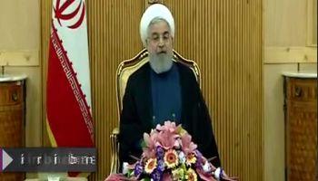 روحانی: توسعه همکاری دیپلماسی با همسایگان +فیلم