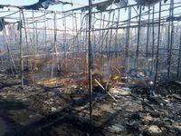 آتشسوزی در بازارچه پونه گلشهر +عکس