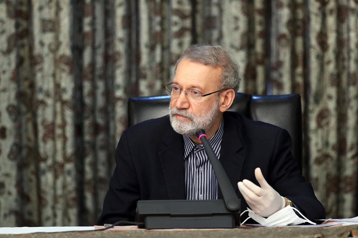 تقدیر معاون پارلمانی رییس جمهور از لاریجانی