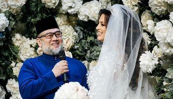 دردسر ازدواج  پادشاه مالزی با ملکه زیبایی روس +عکس
