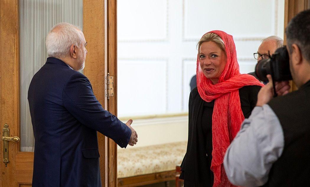 دیدار نماینده سازمان ملل با ظریف