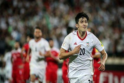دیدار تیمهای فوتبال ایران و سوریه +تصاویر
