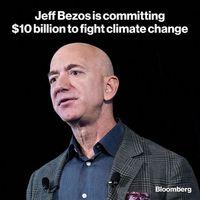 کمک 10میلیارد دلاری جف بزوس برای مبارزه با تغییرات اقلیمی