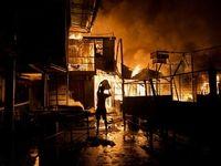 آتش زدن یک روستا در خوزستان برای اختلافات قبیلهای