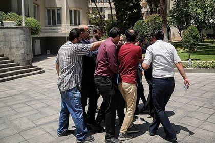 در حاشیه جلسه هیات دولت +تصاویر