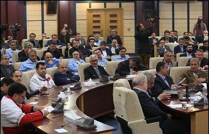 رییس جمهور در ستاد مدیریت بحران