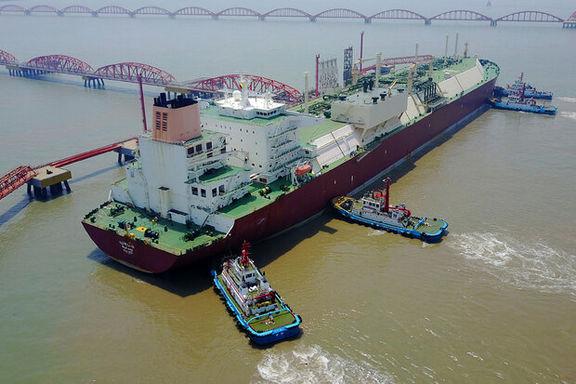 ژاپن اولین محموله LNG از چین را وارد کرد