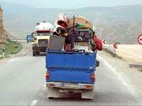 افزایش مهاجران اقلیمی با مرکزیت شمال ایران