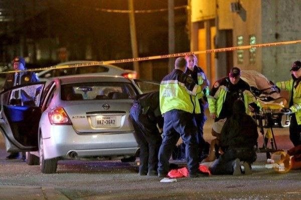 shooting rampage in New Orleans