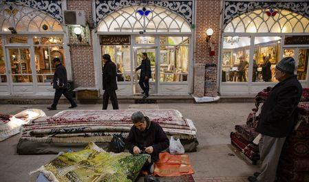 بازار فرش تبریز +عکس
