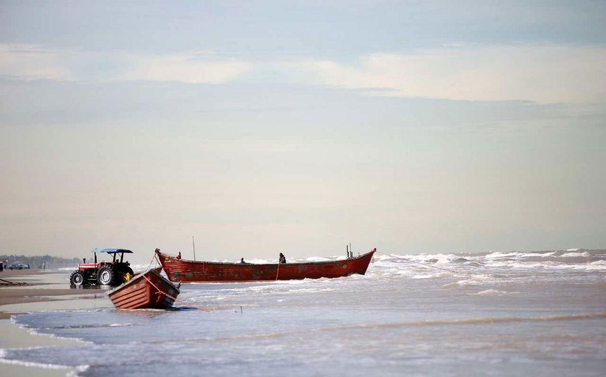 کاهش تراز آب دریای خزر در یک سال اخیر
