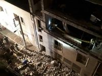 انفجار شدید منزل مسکونی چهارطبقه