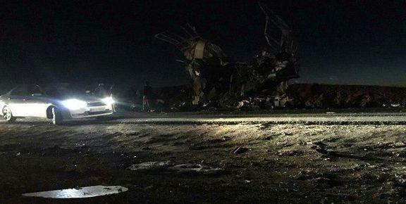 انتقال پیکر شهدای حادثه تروریستی سیستان به پزشکی قانونی