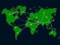 تغییر تعداد پروازها قبل و بعد از قرنطینه در کشورهای اروپایی +فیلم