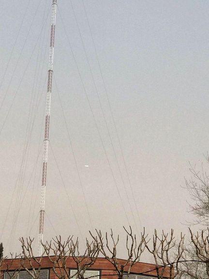 شناسایی شی مشکوک در آسمان پایتخت +عکس