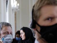 جلسه مشترک سفرای مقیم تهران برای مقابله با کرونا +تصاویر