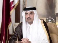 راه حل مشکلات منطقه از زبان امیر قطر +فیلم