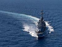 ناو فرانسه کشتی آمریکایی را در تنگه هرمز اسکورت کرد
